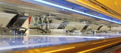 LED-Ausleuchtung der Biegelinie